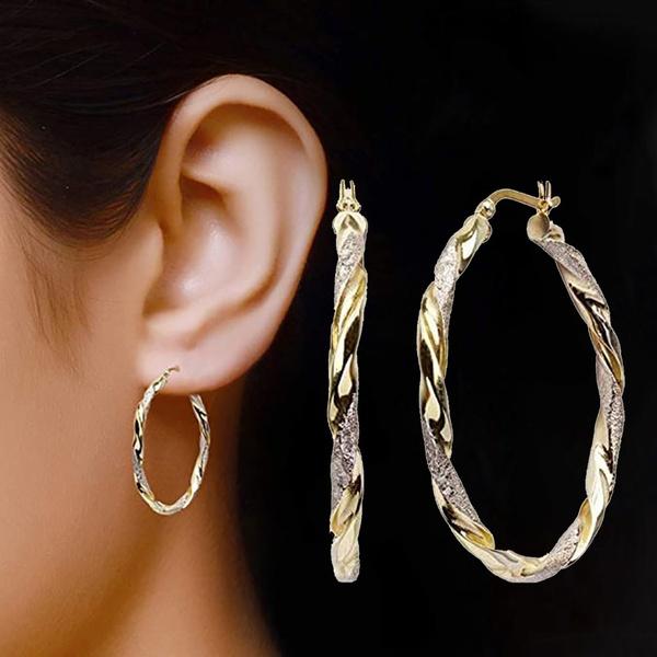 Fashion, Jewelry, gold, earhoop