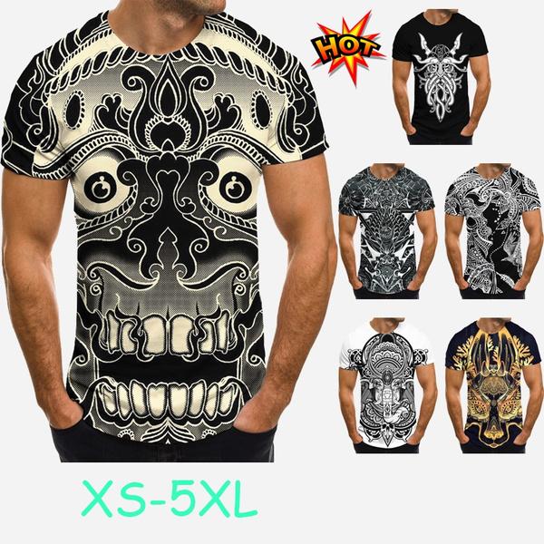 Plus Size, Shirt, Sleeve, Men