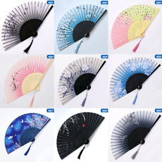 pocketfan, dancefan, bamboofan, Flowers