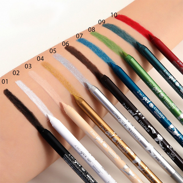 blackeyeliner, Eye Shadow, colorfuleyeliner, longlastingeyeliner