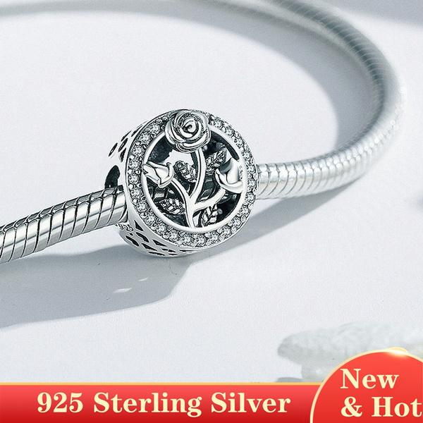 Sterling, braceletdiy, Floral, Jewelry