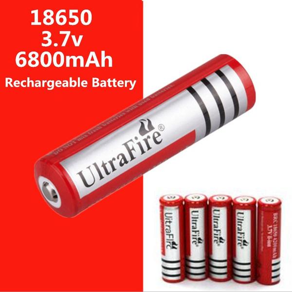 Flashlight, ultrafire, 18650, 6800mah