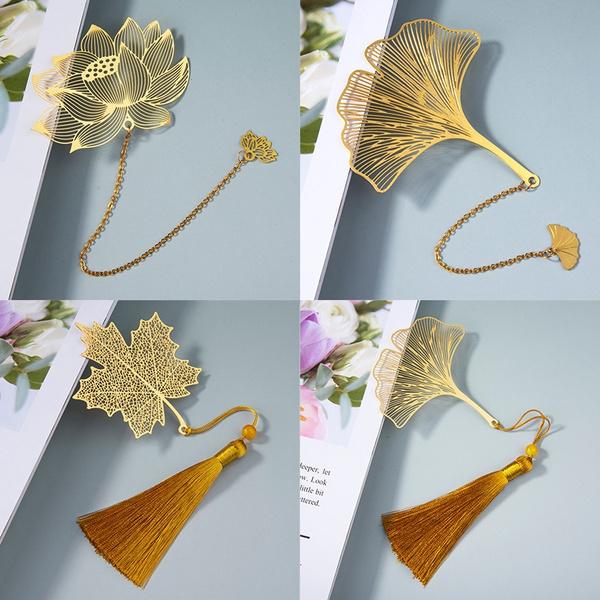 Tassels, leaf, Office, Bookmarks