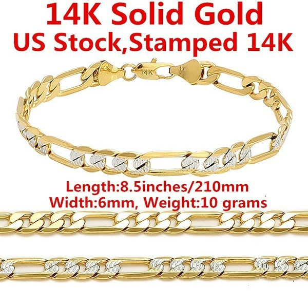 yellow gold, Fashion, Chain, chianbracelet