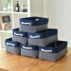 Blues, fabricstoragebox, storagebasket, storagebinsforhome