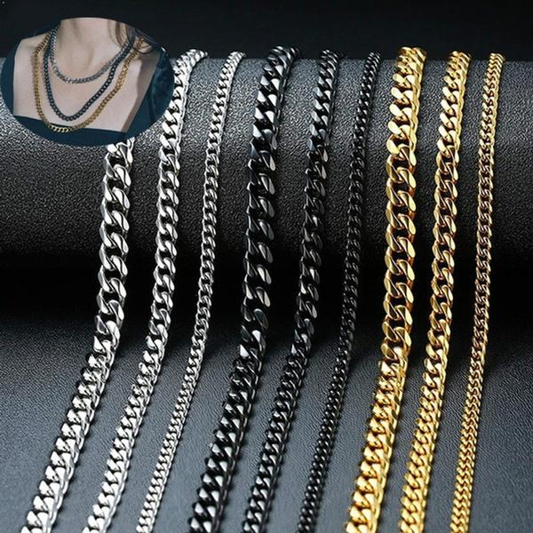 Steel, Men, Jewelry, ingyene
