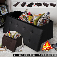 Storage Box, ottomanstoragebox, footstool, Home & Kitchen