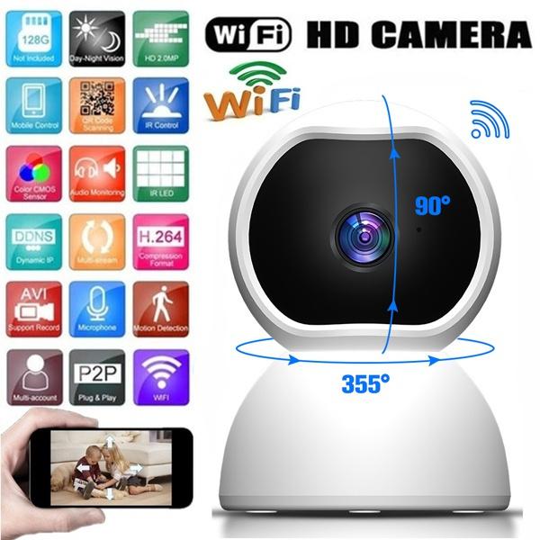 wirelessipcamera, homecctvcamera, Home & Living, camerawithnightvision