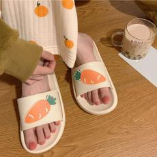 cute, Flip Flops, Sandals, roundhead