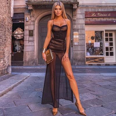 Woman, clubwear, Dress, Yarn