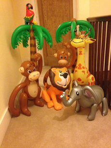 decoration, party, Inflatable, monkey