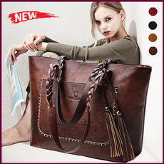 Shoulder Bags, Tassels, Capacity, Ladies Fashion
