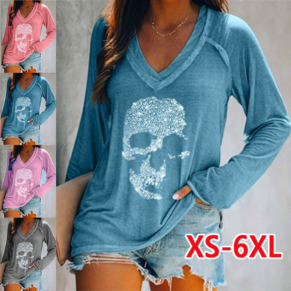 Clothes, ladiesfashiontop, Plus Size, long sleeved shirt