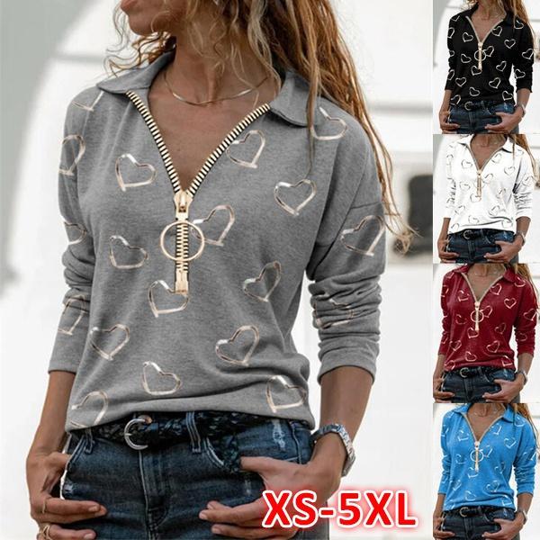 XL, Loose, Shirt, Sleeve