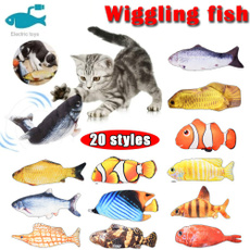 cattoyfish, Funny, Plush Doll, electricfish