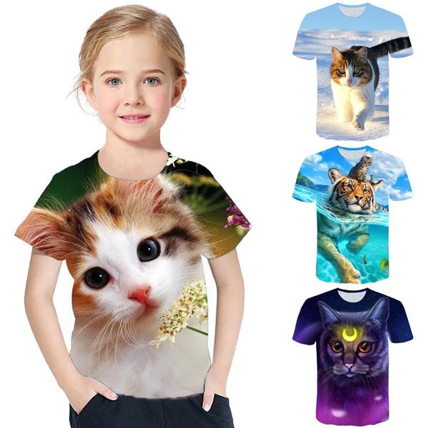 Summer, Fashion, 3dlovelytshirt, short sleeves