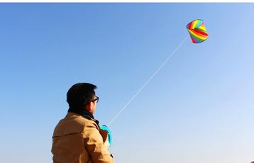 Beautiful, kitewithhandle, Flying, kite
