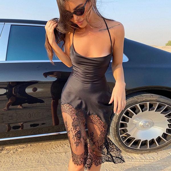 sexy Women's Fashion, Lace, Dress, Lace Dress