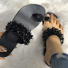 beach shoes, Flip Flops, DIAMOND, Women Sandals