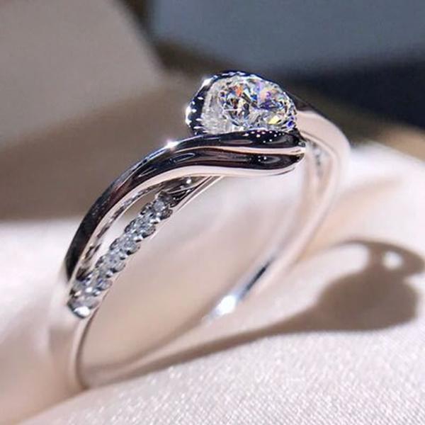 DIAMOND, Jewelry, Bride, Diamond Ring
