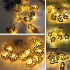 ledlightstring, golden, led, moonstarled
