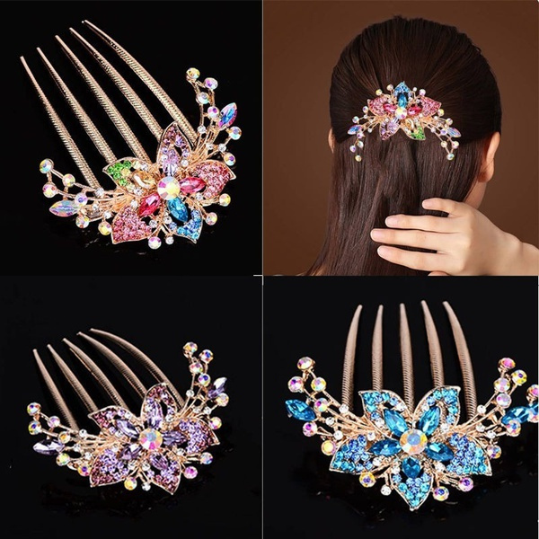 DIAMOND, Jewelry, Rhinestone, Hair Pins