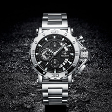 Steel, quartz, Waterproof, Bracelet Watch
