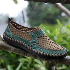 loafersformen, mensdrivingshoe, Summer, mencasualleathershoe