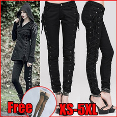 Goth, Fashion, skinny pants, pants