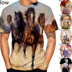 malefemale, horse, Fashion, Shirt