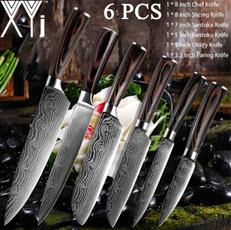 Steel, Kitchen & Dining, Cooking, damascusknife
