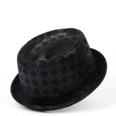 Pie, mensfashionhat, leatherfedorahat, Top Hats