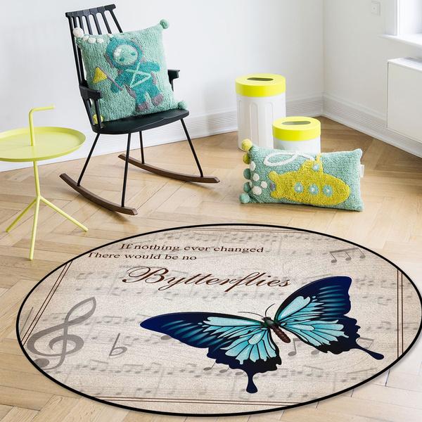 butterfly, non-slip, Decor, living room