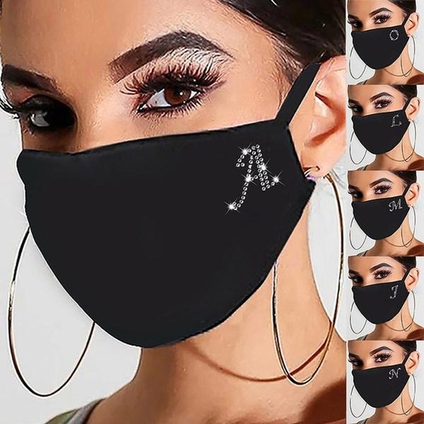 maskforface, Bling, blackmask, unisex