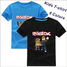 robloxshirt, Shorts, kids clothes, Sleeve