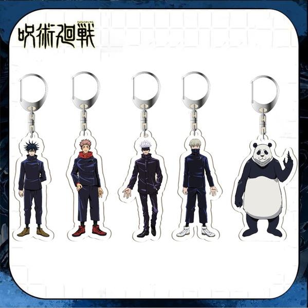 Key Chain, longtwodimensionalkeychain, acrylicpendant, Key Rings