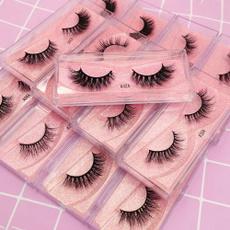 Eyelashes, mink, Beauty, Makeup