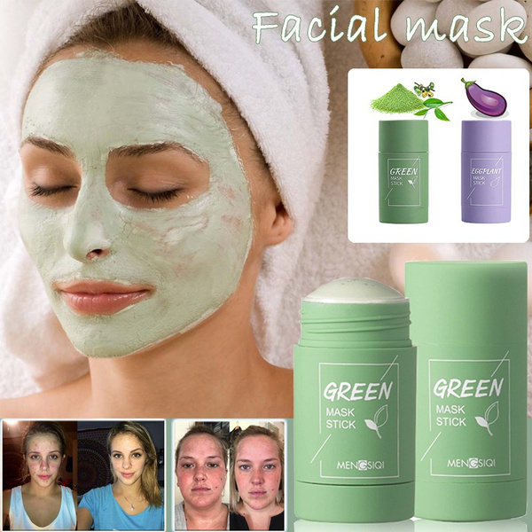 greenteamask, cleansingfacemask, Beauty, solidmask