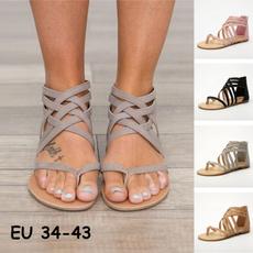 beach shoes, Flip Flops, zippersandal, summersandal