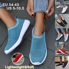 Summer, Sneakers, Slip-On, shoes for womens