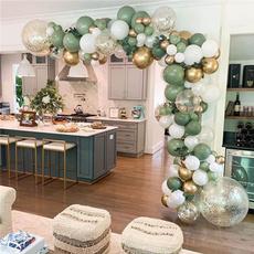 decoration, beangreenballoon, Hawaiian, Garland
