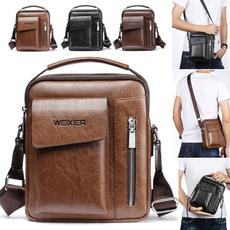 Shoulder Bags, Leather Handbags, Totes, brown