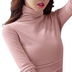 Fashion, velvet, koreanversion, Long Sleeve