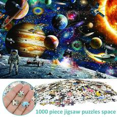 puzzlegame, 1000piecejigsawpuzzlesspace, Toy, Gifts