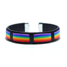 openbracelet, rainbow, bracelethomme, Jewelry