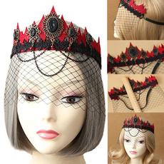 crown, Lace, Dance, Visors