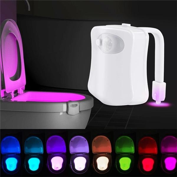 toilet, led, lights, Seats