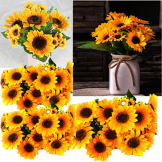 Office, Bouquet, Yellow, decoration