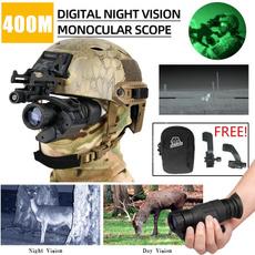 Helmet, digitalbinocular, Telescope, Hunting