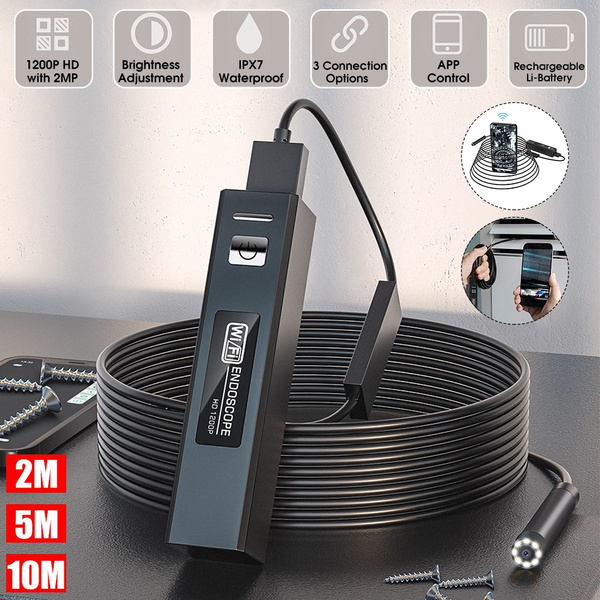 8MM, led, waterproofendoscope, toolsforreparing